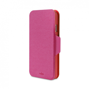 Puro Bi-Color Wallet Case Pink/Red iPhone 6 Plus