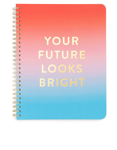 Ban.do Rough Draft Mini Notebook Your Future Looks Bright