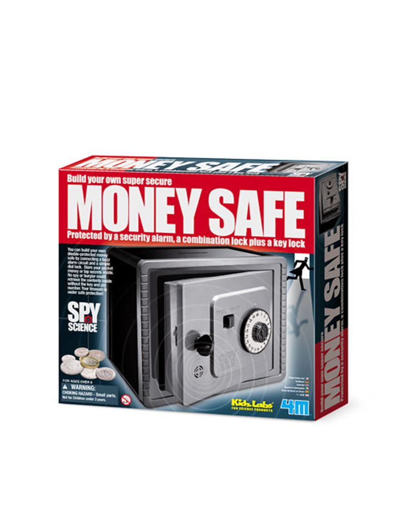 Kidz Labs/Spy Science Alarm Protective Money Bank Science Kit