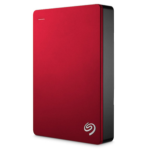 SEAGATE BACKUP PLUS 5TB RED PORTABLE EXTERNAL HARD DRIVE