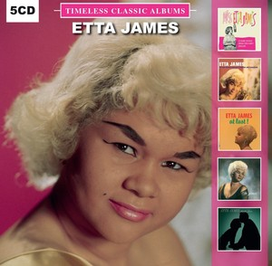 Etta James Timeless Classic Albums [5 Disc Set]