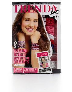 TRENDiY Arts Diamond Bracelets Activity Set