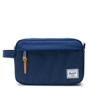 Herschel Chapter Carry-On Travel Kit Medievel Blue Crosshatch/Medievel Blue