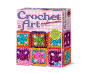 4M Crochet Art Craft Kit