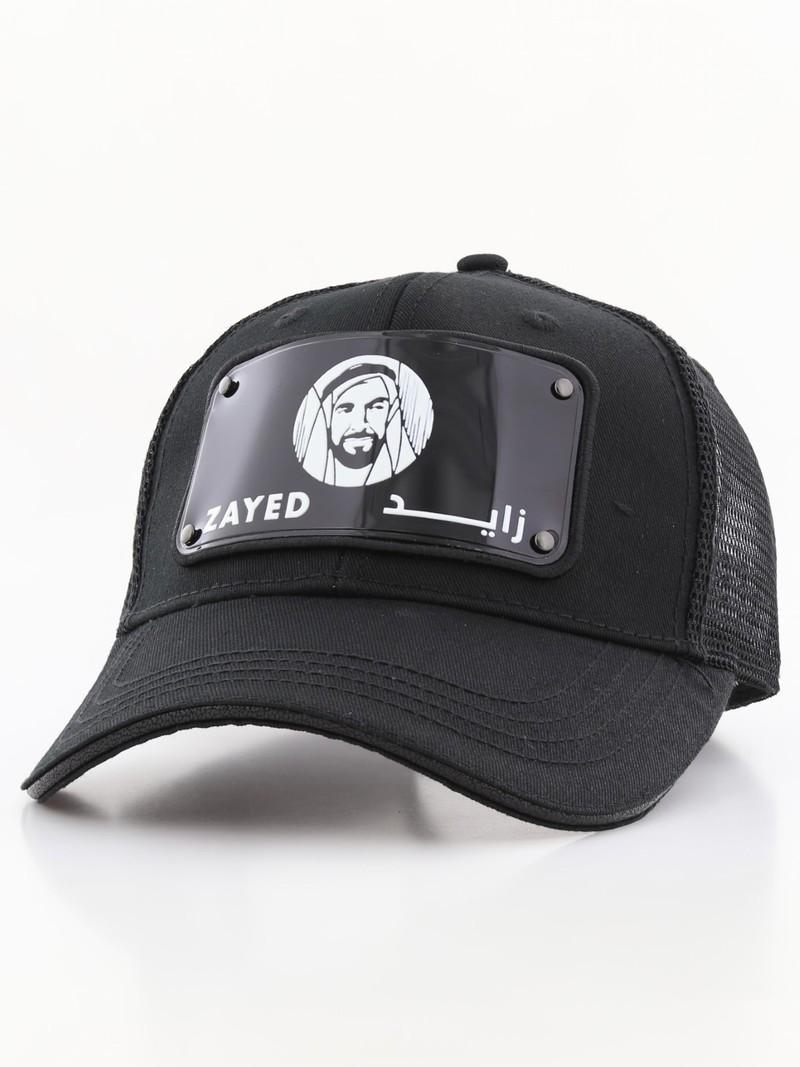 319b672af79 Raqam Year of Zayed Plate No. Zayed Model 1 Black Uisex Cap