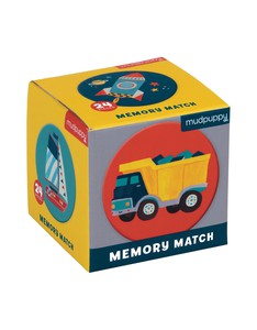 Mudpuppy Transportation Mini Memory Match Game