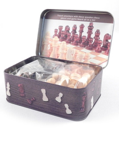 Apples To Pears Chess Set In A Tin