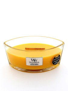 Woodwick Large Scented Candle Seaside Mimosa