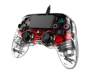 Nacon Wired Compact Controller Red for PS4