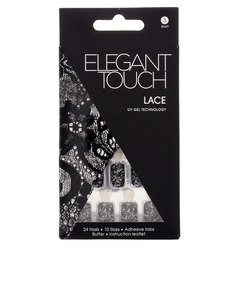 Elegant Touch Trend Nails Lace