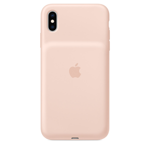 Apple Smart Battery Case Pink Sand for iPhone XS Max