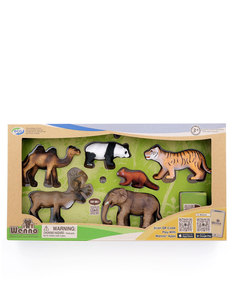 Wenno Asia Animal Figure Playset