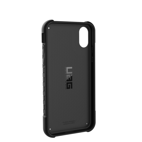 6a587bb6f31 UAG Monarch Case Black With Silver Logo For iPhone X | Cases ...