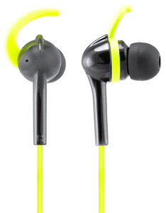 Wicked Audio Fang Black/Lime Sport Earbuds
