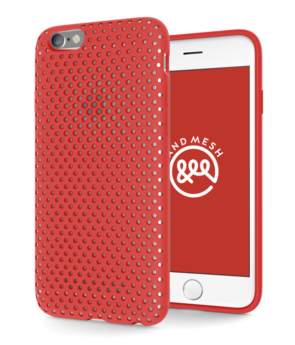 Andmesh Case Red Iphone 6