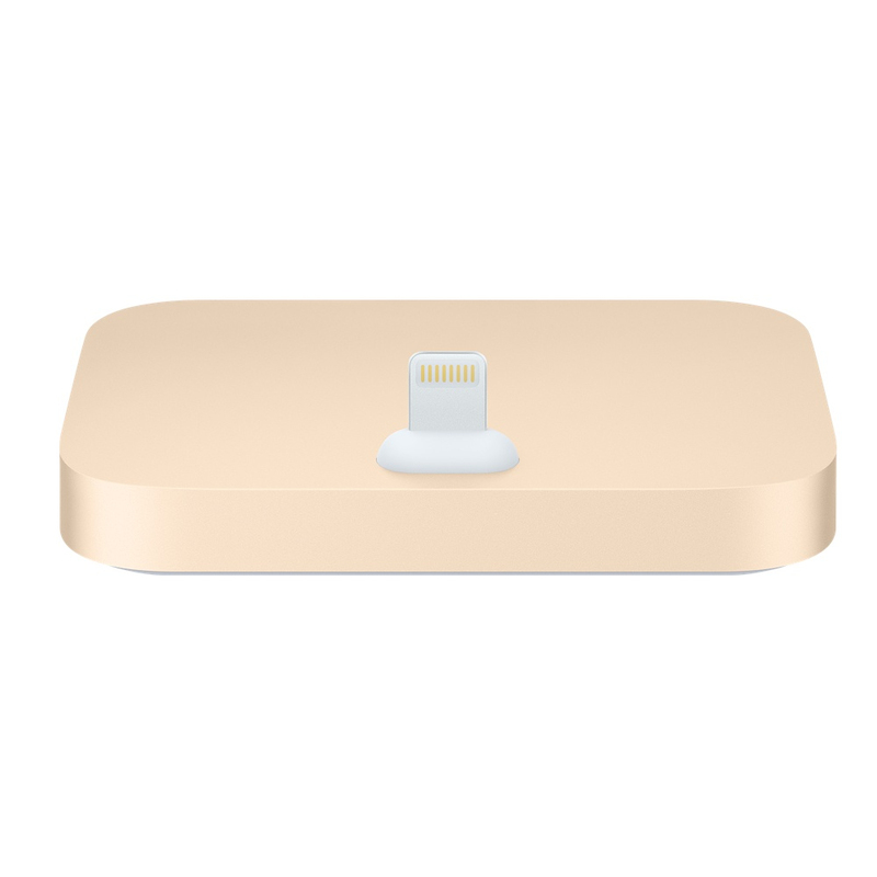 Apple Lightning Dock Gold iPhone