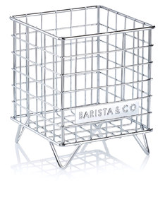 Barista & Co Pod Cage Electric Steel