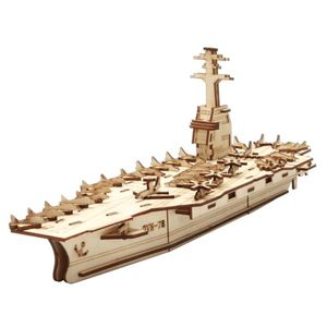 Robotime Uss Gerald R. Ford 3D Wooden Model