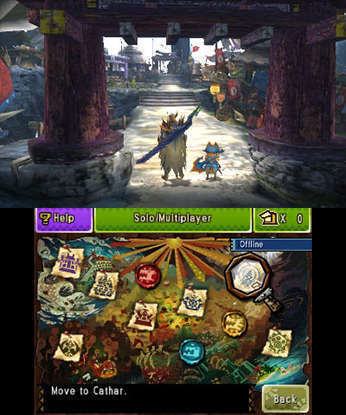 Monster hunter 4 ultimate 3ds games nintendo 3ds ds gaming gallery voltagebd Image collections