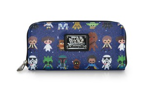 Loungefly Star Wars Characters Cutesy Zip Around Wallet