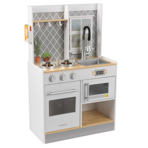 Kidkraft Let's Cook Wooden Play Kitchen White