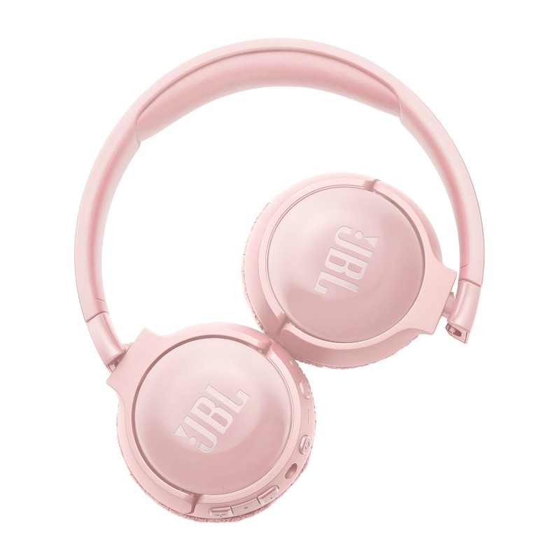 JBL TUNE600 PINK BLUETOOTH NOISE CANCELLING ON-EAR HEADPHONES