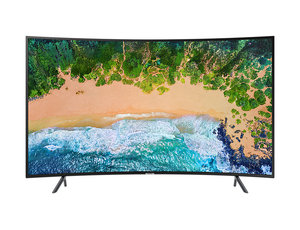 "Samsung 65"" Uhd 4K Curved Smart Tv Nu7300 Series 7"