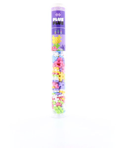 Plus-Plus Tube Mini Pastel Mix Building Blocks [100 Pcs]