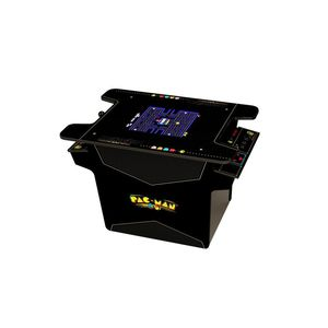 Arcade 1Up Black Series PAC-MAN Head to Head Gaming Table