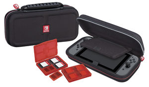 RDS Game Traveler Deluxe Travel Case Black For Nintedo Switch