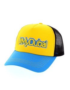 B180 #Mydubai1 Blue/Yellow/Black Cap
