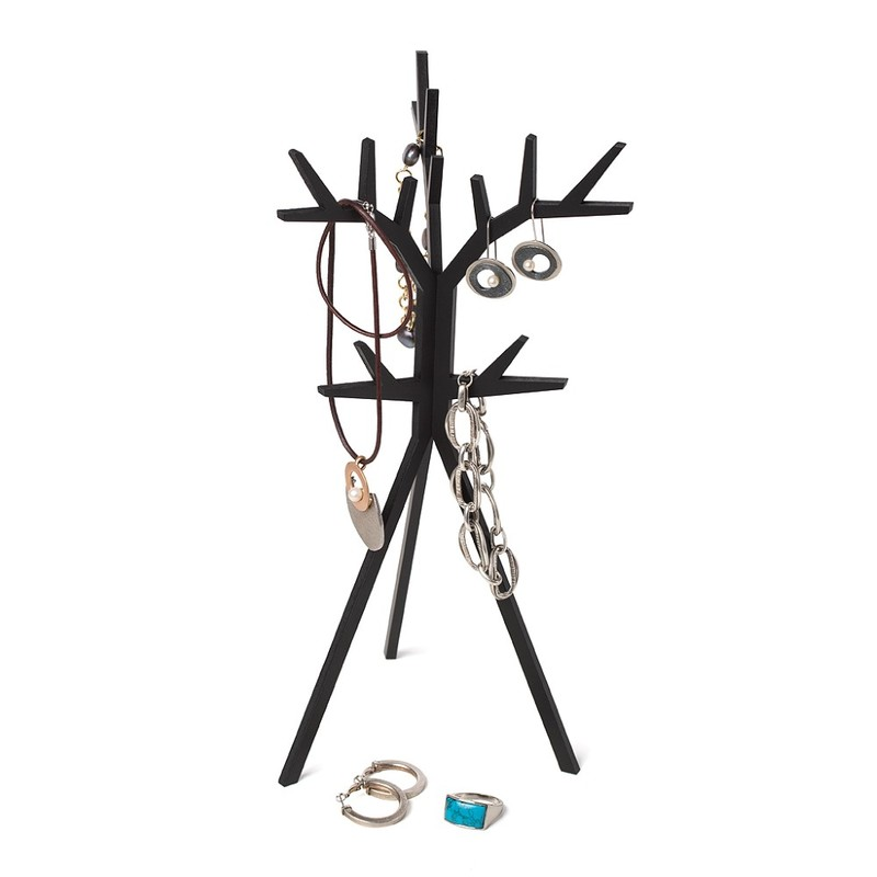 Balvi Jewellery Rack Treed Black