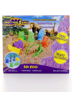 Motion Sand 3D Sand Box 3D-Zoo