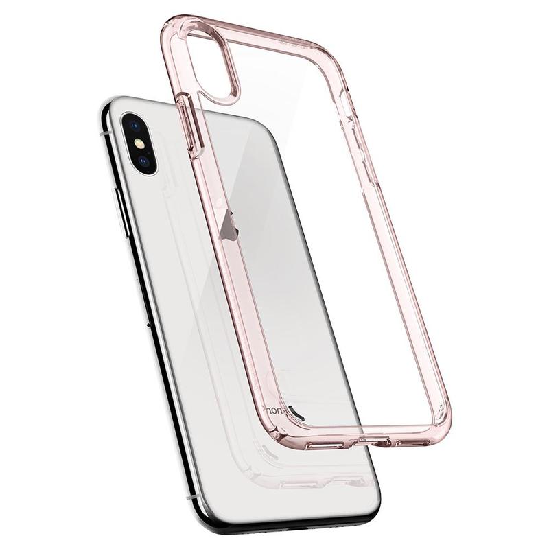 on sale ad814 76ecb Spigen Ultra Hybrid Case Rose Crystal for iPhone X
