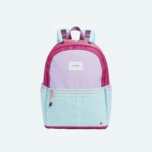 State Bags Kane Color Block Magenta/Mint  Backpack