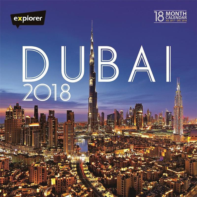 Dubai 18 Month Calendar 2018