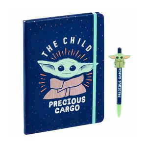 Funko Star Wars Mandalorian The Child Notebook & Pen Precious Cargo