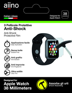 Aiino Screen Protector Apple Watch 38mm