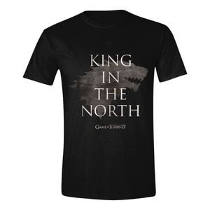 Time City Game Of Thrones King In The North Men's T-Shirt Black