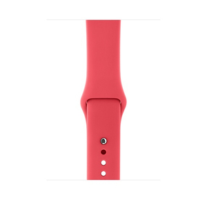 APPLE SPORT BAND 42MM RED RASPBERRY S/M & M/L