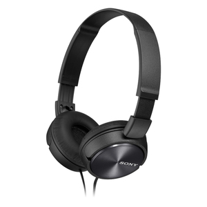 Sony MDR-ZX310 Black On Ear Headphones