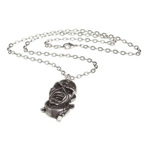Iron Maiden Piece of Mind Pendant Silver