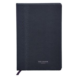 Ted Baker A5 Notebook Brogue Navy