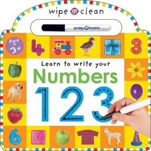 Learn To Write Your Numbers 1 2 3