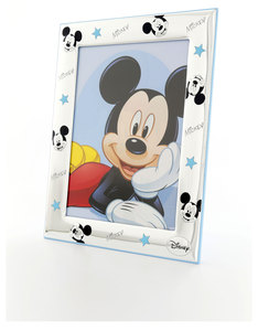 Disney Mickey Mouse Star Photo Frame Silver/Blue [13x18cm]