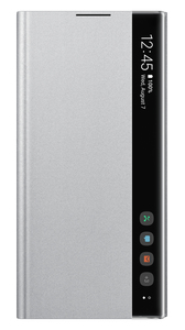 Samsung Clear View Cover Silver for Galaxy Note 10+