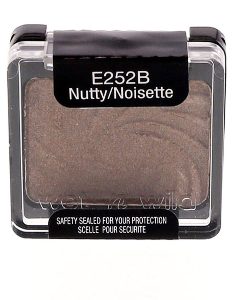Wet N Wild Eyeshadow Single Nutty