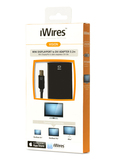 Iwires Mini Display Port To Dvi Adapter .2M Cable