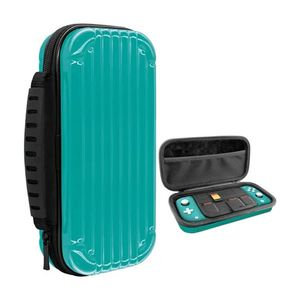 Gamewill Hard Shell Carry Case Turquoise for Nintendo Switch Lite