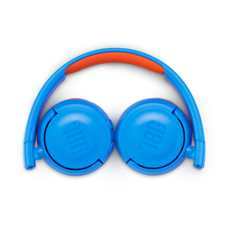 JBL Junior 300 Blue/Orange Bluetooth Headphones